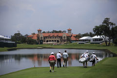 Hole 18 , The Players, TPC Sawgrass, FL Royalty Free Stock Images