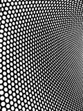 Hole. Black and white background with holes Royalty Free Stock Photography