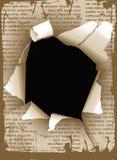 Hole. Grunge background. High detailed vector illustration vector illustration