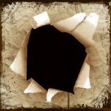Hole. Grunge background Royalty Free Stock Image