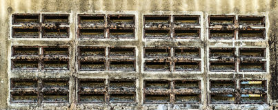 Hole air wall Stock Images