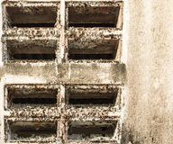 Hole air wall Royalty Free Stock Images