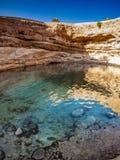 Hole. Bimmah Sinkhole, Oman, Arabic Peninsula Royalty Free Stock Photo