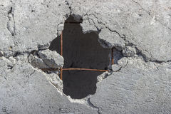 how to cut a hole in concrete floor