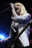 Hole with Courtney Love performing live. Stock Photography