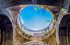 The hole in dome Stock Image
