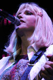 Hole featuring Courtney Love performing live. Stock Image