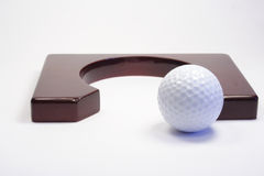 Hole for a golf Royalty Free Stock Photo