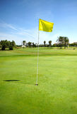 Hole on the golf course of Costa Ballena, Rota, Cadiz province, Spain Stock Photo