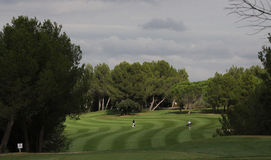 Hole 17, at the golf Masters 13, 2013 Stock Image