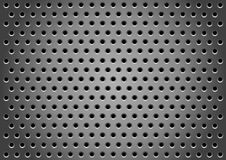 Hole_gray_background Immagine Stock Libera da Diritti
