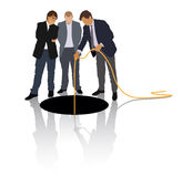 The hole Royalty Free Stock Images