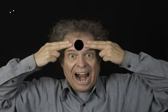 Hole in the Head Royalty Free Stock Photo