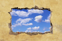 Free Hole In Wall Stock Photo - 50337440