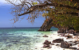 Hole island. The hole island in andaman sea,Thailand Royalty Free Stock Photos