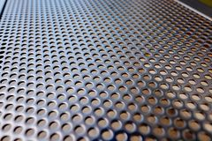 Hole Mesh Pattern Stock Photo