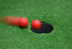 Hole In One. Every golfers dream Royalty Free Stock Photos