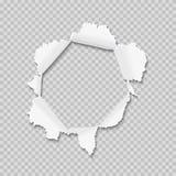 hole papper stock illustrationer