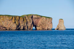 The Hole of Percé/Rock Royalty Free Stock Photo