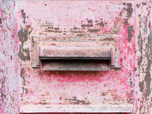 Hole of post box Royalty Free Stock Photography