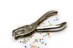 Hole Punch Royalty Free Stock Image