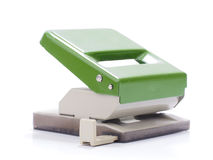 Hole punch machine Stock Photo
