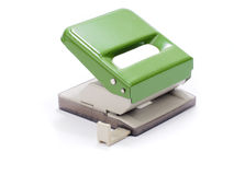 Hole punch machine Royalty Free Stock Photo
