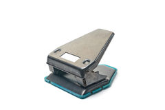 Hole punch stationery Stock Image