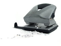 Hole puncher Stock Photo