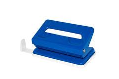 Hole puncher with clipping path Royalty Free Stock Photo