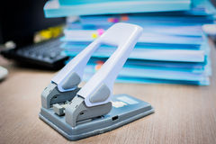 Hole puncher Stock Photography
