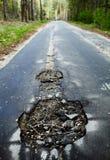 Hole road. Royalty Free Stock Photo