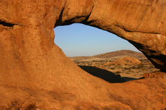 Hole in the rock Stock Image