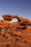 Hole in rock Stock Photos