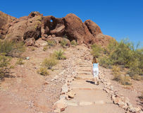 A Hole in the Rock Shot, Phoenix Royalty Free Stock Photo
