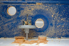 Hole saw Stock Images