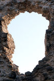 Hole in the wall Royalty Free Stock Images
