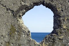 Hole in the wall Stock Photos