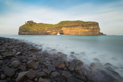 Hole-In-The-Wall. The spectacular Hole In The Wall near Coffee Bay in the Transkei(Wild Coast) - South Africa stock images