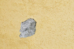 Hole on a wall Royalty Free Stock Image