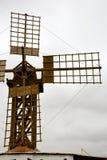hole windmills  isle of lanzarote Stock Image