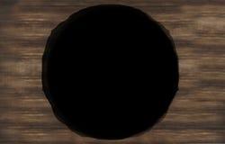 Hole Wood Background Texture. Background image design Stock Photography