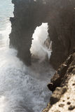Holei havsbåge Fotografering för Bildbyråer