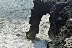 Holei-Seebogen, Vulkan-Nationalpark, große Insel von Hawaii lizenzfreie stockbilder