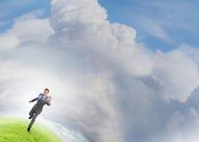 Holen Ihre Ziele auf Lizenzfreies Stockfoto