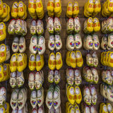 Holenderów buty Zdjęcia Stock