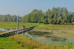 Holender Kształtuje teren De Blauwe Kamera, Gelderland - Zdjęcia Stock
