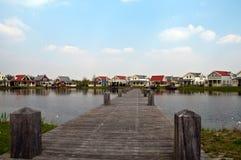holenderscy domy zdjęcia stock