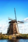 holenderscy tradycyjni wiatraczki Fotografia Royalty Free