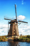holenderscy tradycyjni wiatraczki Fotografia Stock